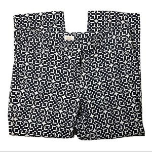 Laundry by Shelli Segal Patterned Cropped Pants 6
